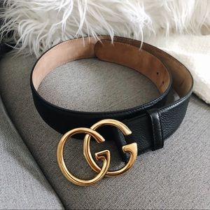Gucci GG Marmont Two Way Black Belt 80 32